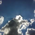 Cloud-Man Reaching Across The Sun